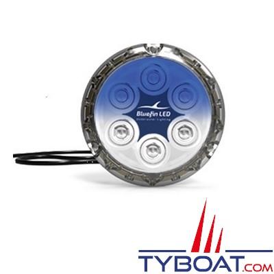 Bluefin Led - Piranha P12 - Lampe LED sous-marine à montage en surface - 5700 lumens - 12/24V - Bleu saphir