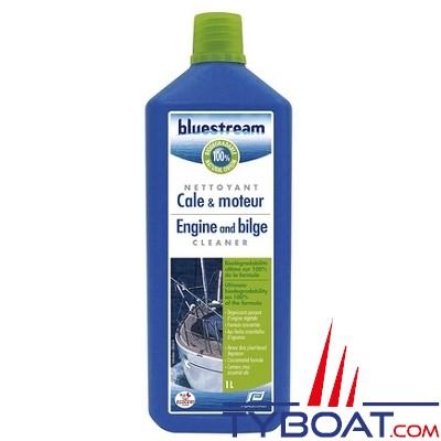 BLUESTREAM - Nettoyant écologique - Cale & moteur - Bidon 0.5 litre