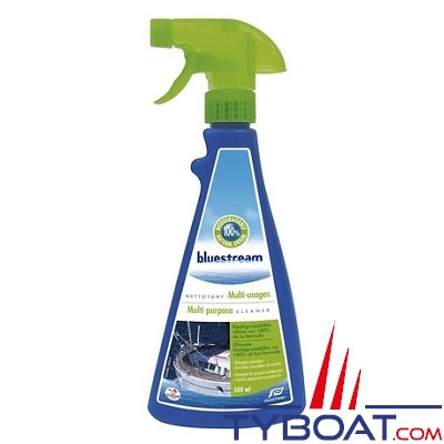 BLUESTREAM - Nettoyant écologique - Multi-usages - Spray 0.5 litre