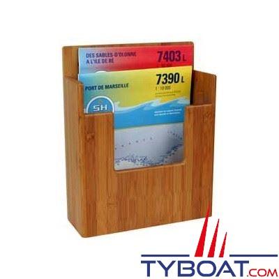 Bamboo Marine - Boite de navigation - 230 x 300 x 75 mm