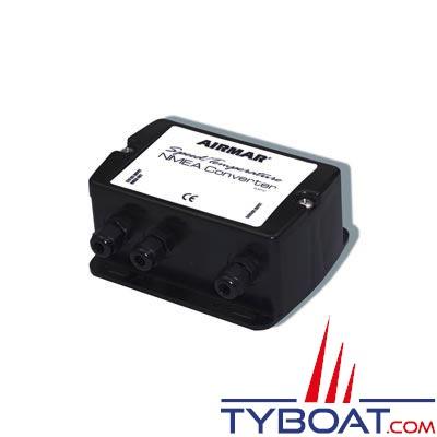 Boîtier de conversion NMEA0183 pour capteur vitesse et température Airmar