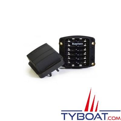 Cooper Bussmann - Boîtier porte-fusibles/disjoncteurs à encastrer 12 voies étanches