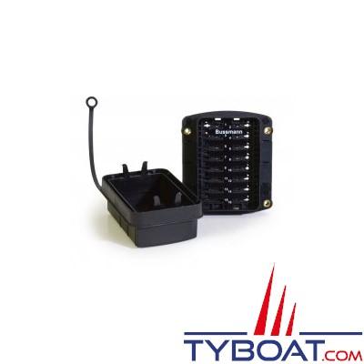 Cooper Bussmann - Boîtier porte-fusibles/disjoncteurs à encastrer 16 voies étanches
