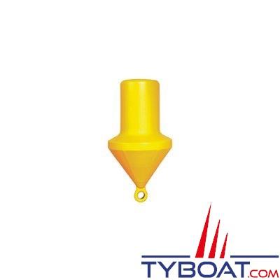 Bouée de balisage Plastimo cylindrique Ø 40cm hauteur 74cm - jaune - moussée