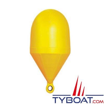 Bouée de balisage Plastimo sphérique grand modèle Ø 80cm hauteur 161cm - jaune - moussée