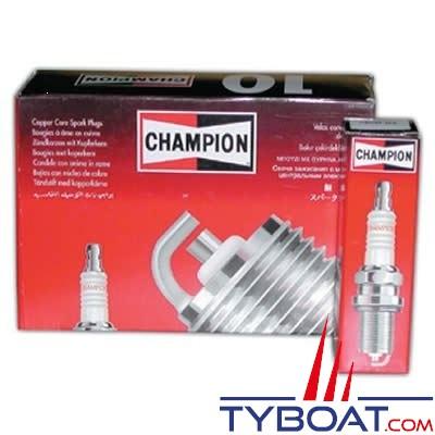 Bougie d'allumage CHAMPION RV12YC (boîte de 4 unités)