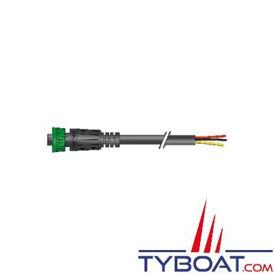 Câble d'alimentation S-Link pour propulseur d'étrave Side Power 12/24v - 2,5 mètres