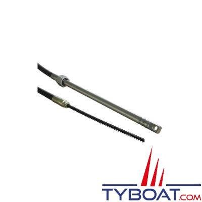 Câble de direction pour boîtier Morse D290 - longueur 3,00m