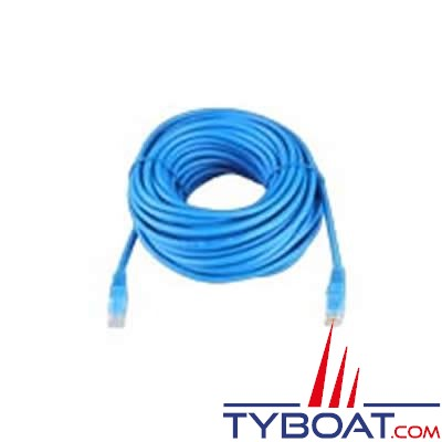 VICTRON ENERGY - Câble de liaison RJ45 UTP tableau-chargeur longueur 15 mètres.