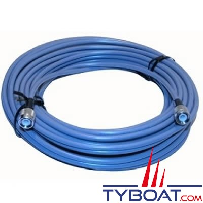 Câble GPS 00117311010 pour Furuno FA50 TNC(M) - longueur 15 mètres