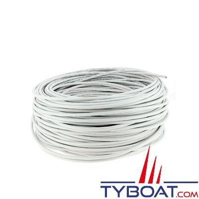 Câble marine type TCX(I) 1Px0,75mm² pour capteurs voie d'eau MARINELEC - au mètre