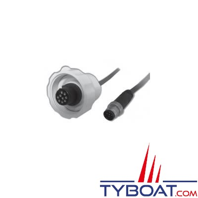 Câble NMEA2000 Airmar pour antenne GPS G2183 / GH2183 / PB200 avec terminaison NMEA2000 - 30 mètres