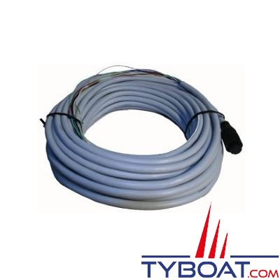 Câble NMEA2000 Furuno 00016689111 pour relier le SC30 à l'interface NMEA0183/2000 - 15 mètres