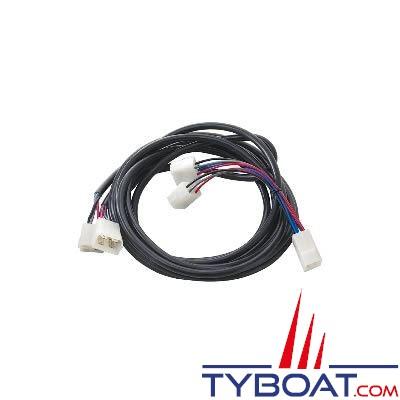 Câble pour propulseur Side Power 12/24v 4 fils - longueur 7 mètres