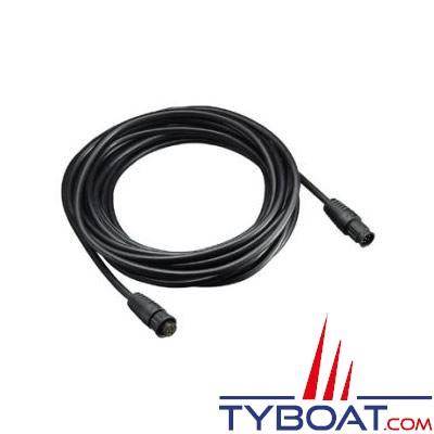 Câble rallonge Standard Horizon CT100 pour combinés déportés CMP25 / CMP30 / CMP31 - longueur 10 mètres