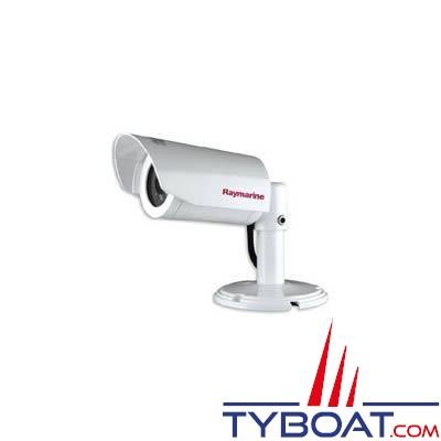Caméra couleur Raymarine CAM 100 étanche IPX 6 infrarouge 12V inversée (vision nocture jusqu'à 15 mètres)