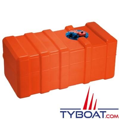 Can SB Marine Plastic - Réservoir carburant avec trappe, évent + bouchon - 140 Litres - Plastique