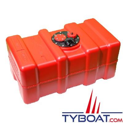 Can SB Marine Plastic - Réservoir carburant avec trappe, évent + bouchon - 55 Litres - Plastique