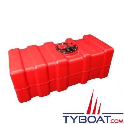 Can SB Marine Plastic - Réservoir carburant avec trappe, évent + bouchon - 70 Litres - Plastique