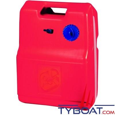 Nourrice carburant - 24 Litres - Plastique