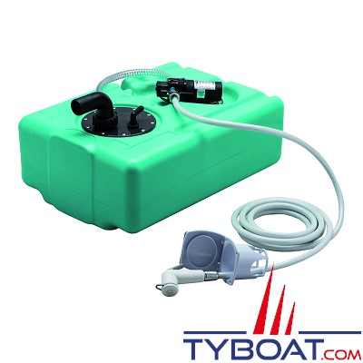 Douchette avec réservoir de 39 litres et pompe 4 litre/min - 12 Volts