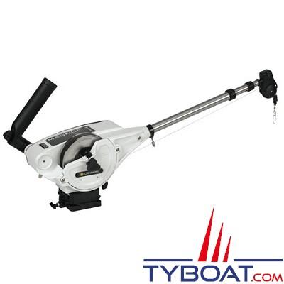 CANNON - DIGI-TROLL 10 TS - Treuil de pêche électrique - Spécial mer : Bras et bobine INOX