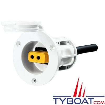CANNON - Kit de pont permanent pour treuil électrique (sans prise jaune) - blanc