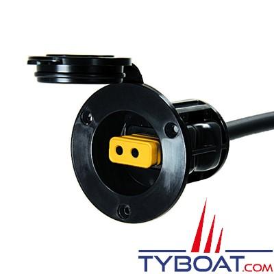 CANNON - Kit de pont permanent pour treuil électrique (sans prise jaune) - noir