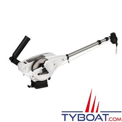 CANNON - MAGNUM 10 STX-TS - Treuil de pêche électrique - Spécial Bras et bobine INOX