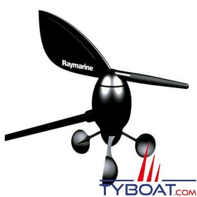Capteur Girouette / Anémomètre Raymarine avec câble de 30 mètres