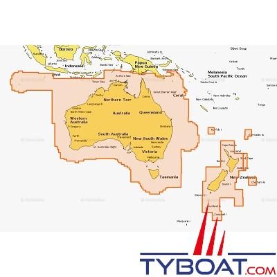 Carte Navionics Australie.Carte Marine Navionics 50xg Australie Et Nouvelle Zelande