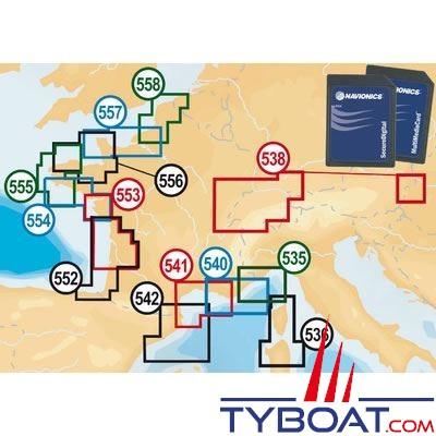Carte Corse Nord.Carte Navionics Gold Small 2 G Zone 536 Corse Nord Sardaigne