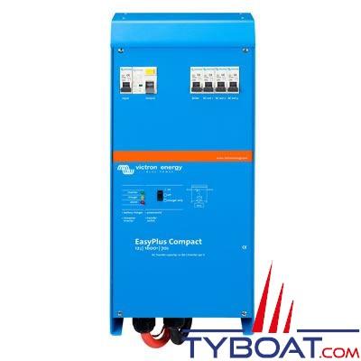 VICTRON ENERGY - Chargeur - Convertisseur Easyplus Compact 12 Volts 1,6kVA (1300 Watts) 70 Ampères 230 Volts commutateur de transfert 16A