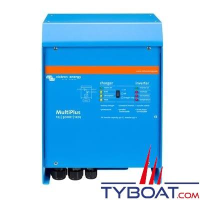 VICTRON ENERGY - Chargeur - Convertisseur Multiplus 12 Volts 3kVA (2500 Watts) 120 Ampères 230 Volts commutateur de transfert 16A