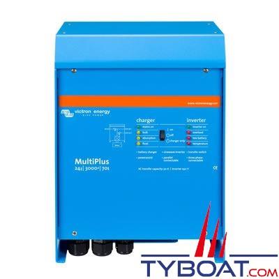 VICTRON ENERGY - Chargeur - Convertisseur Multiplus 24 Volts 5kVA (4500 Watts) 120 Ampères 230 Volts commutateur de transfert 100A