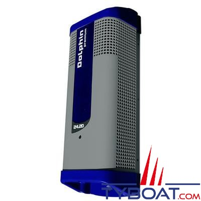 Chargeur de batterie DOLPHIN PREMIUM 24V 20A 3 sorties 115/230V