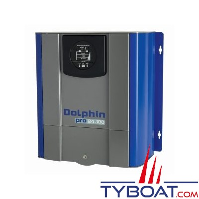 Chargeur de batterie DOLPHIN PRO 24V 100A 3 sorties 230V