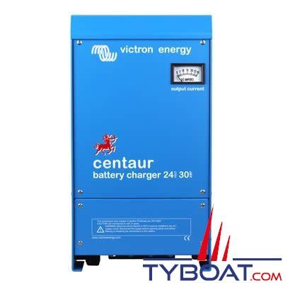 VICTRON ENERGY - Chargeur de batterie Centaur 24 Volts  16 Ampères 3 sorties 90-265Vac/45-65Hz.