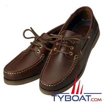 Chaussures homme XM Yachting série Crew marron - Taille 44