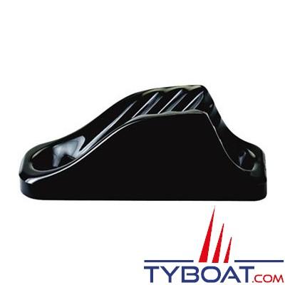 Clamcleat CL201 coinceur ouvert vertical polyamide noir pour cordage Ø 6 à 12mm