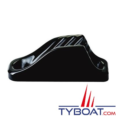 Clamcleat - CL204  - Coinceur mini polyamide noir pour cordage Ø 3 à 6 mm