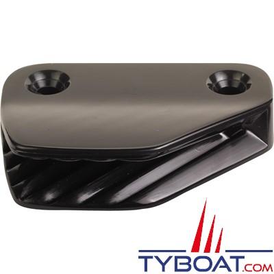 Clamcleat - CL206 - Coinceur latéral tribord polyamide noir pour cordage Ø 6 à 10 mm