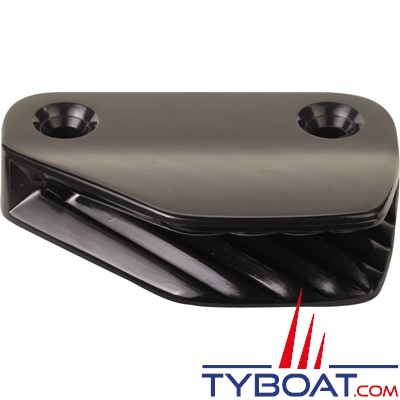 Clamcleat - CL207 - Coinceur latéral babord polyamide noir pour cordage Ø 6 à 10 mm