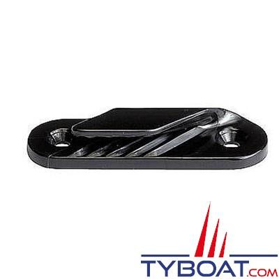 Clamcleat - CL213 - Coinceur latéral tribord polyamide noir pour cordage Ø 2 à 5  mm