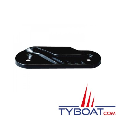 Clamcleat CL214 coinceur latéral babord polyamide noir pour cordage Ø 2 à 5  mm