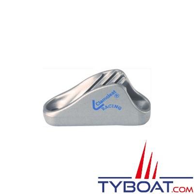 Clamcleat CL222 coinceur ouvert racing mini alu pour cordage Ø 3 à 6 mm