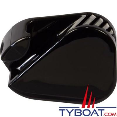 Clamcleat CL223 Taquet mobile polyamide noir pour cordage Ø 3 à 6 mm