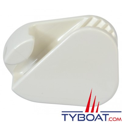 Clamcleat CL223W Taquet mobile polyamide blanc pour cordage Ø 3 à 6 mm