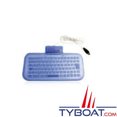 Clavier souple MC Marine 85 touches Azerty UBS-PS/2 IP67