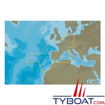 carte europe west
